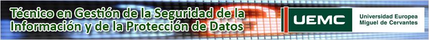 tecnico seguridad informacion protección de datos banner