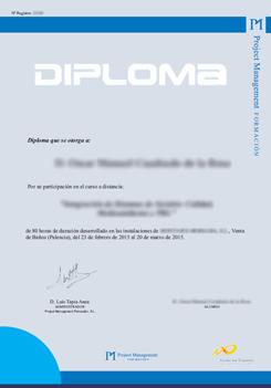 diploma pm consultores Gestión de la Calidad ISO 9001